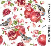 vector seamless pattern with... | Shutterstock .eps vector #1290498226