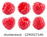 Raspberry. Raspberries Isolated.