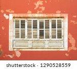 revival windows. city of... | Shutterstock . vector #1290528559