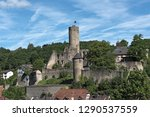 view of the castle ruin... | Shutterstock . vector #1290537559