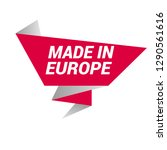 made in europe sign  emblem ...