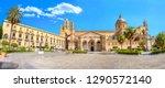 Panoramic View Of Palermo...