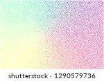 stipple background texture  ... | Shutterstock .eps vector #1290579736