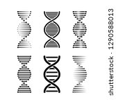Dna Or Chromosome Abstract...