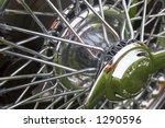 Shiny Bright Chrome Wire Wheels ...