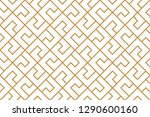 the geometric pattern with... | Shutterstock .eps vector #1290600160