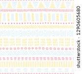 seamless ethnic pattern....   Shutterstock .eps vector #1290605680