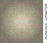 seamless pattern from mandalas...   Shutterstock .eps vector #1290607030