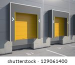 Trucking Loading Dock Of...