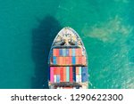 aerial view and top view.... | Shutterstock . vector #1290622300