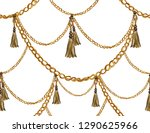 seamless pattern with belts ... | Shutterstock .eps vector #1290625966