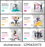 business career and... | Shutterstock .eps vector #1290632473
