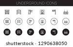 underground icons set....   Shutterstock .eps vector #1290638050
