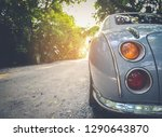old car with natural road...   Shutterstock . vector #1290643870