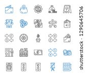 wealth icons set. collection of ... | Shutterstock .eps vector #1290645706