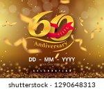 60 years anniversary logo... | Shutterstock .eps vector #1290648313
