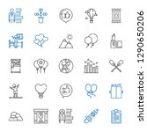 up icons set. collection of up... | Shutterstock .eps vector #1290650206