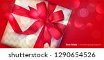 vector illustration  gift box... | Shutterstock .eps vector #1290654526