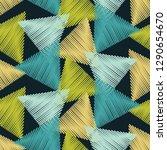 trendy seamless pattern designs.... | Shutterstock .eps vector #1290654670