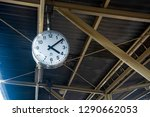 train station clock in hua... | Shutterstock . vector #1290662053