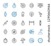 accurate icons set. collection... | Shutterstock .eps vector #1290663466