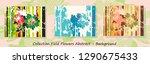 canvas texture background.... | Shutterstock .eps vector #1290675433