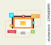 email marketing illustration...