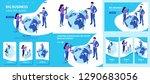 set template article  landing... | Shutterstock .eps vector #1290683056