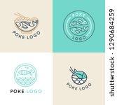 vector logo design template... | Shutterstock .eps vector #1290684259