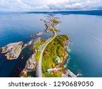atlantic ocean road or the... | Shutterstock . vector #1290689050