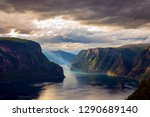 beautiful nature norway natural ... | Shutterstock . vector #1290689140