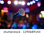 public performance on stage... | Shutterstock . vector #1290689143