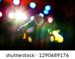 public performance on stage... | Shutterstock . vector #1290689176