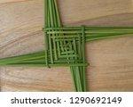 a green st. brigid's cross ...   Shutterstock . vector #1290692149