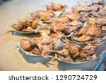 dried fish on the rack  thailand   Shutterstock . vector #1290724729