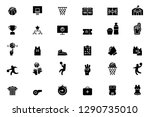 basketball icons 2019 | Shutterstock .eps vector #1290735010