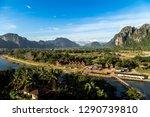 scenic view   landscape of vang ... | Shutterstock . vector #1290739810