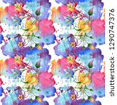 ornament floral botanical...   Shutterstock . vector #1290747376