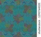 lovely gradient multicolored... | Shutterstock . vector #1290764020