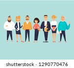 business characters  team ... | Shutterstock .eps vector #1290770476