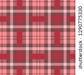 seamless tartan vector pattern | Shutterstock .eps vector #1290775330