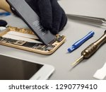 technician or engineer... | Shutterstock . vector #1290779410