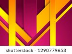 bright purple and orange... | Shutterstock .eps vector #1290779653