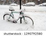 Bike Covered With Fresh Snow I...
