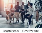 young and successful team. full ... | Shutterstock . vector #1290799480