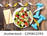 diet food concept | Shutterstock . vector #1290812293