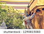 grand palace and wat phra keaw...   Shutterstock . vector #1290815083