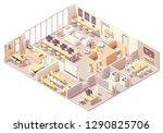 vector isometric modern... | Shutterstock .eps vector #1290825706