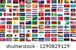 country flags drawing  country... | Shutterstock .eps vector #1290829129