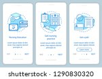 nursing degree onboarding... | Shutterstock .eps vector #1290830320